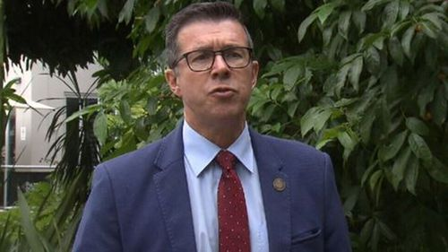 Then-Ipswich Mayor Andrew Antoniolli has been charged with seven counts of fraud.
