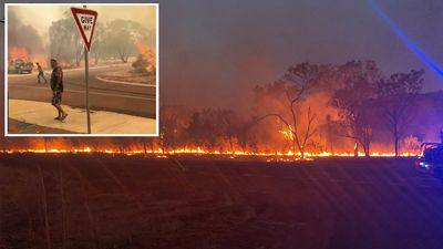 Four homes feared lost in WA bushfire