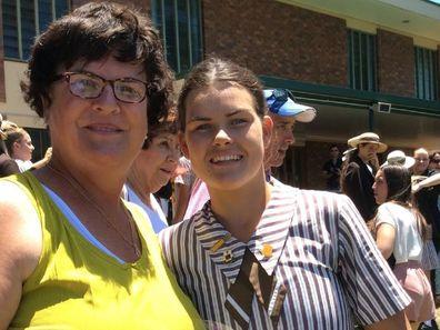 Sophie Brisbane Lions mother breast cancer
