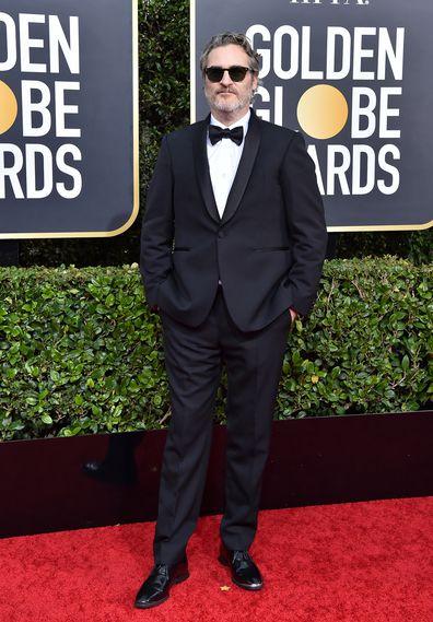 Joaquin Phoenix, Golden Globe Awards.