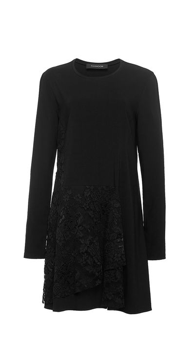 "<p><a href=""https://www.modaoperandi.com/thakoon-pf15/long-sleeve-lace-layered-dress"" target=""_blank"">Dress, $1173, Thakoon at Moda Operandi</a></p>"