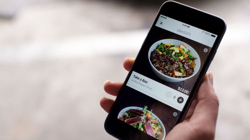 UberEats has hit the restaurant trade hard. (9NEWS)