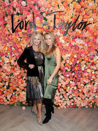 Christie Brinkley and Sailor Brinkley Cook at the Lord & Taylor Garden City Grand Re-Opening in New York,  November, 2016