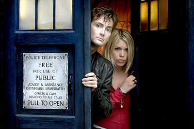 <B>The URST:</B> The Doctor (David Tennant) shared a special connection with companion Rose Tyler (Billie Piper). Unfortunately, she got herself trapped in an alternate universe after she confessed that she loved him. When they were reunited two years later, Rose wound up with the Doctor's half-human clone (as you do). The romance didn't hurt the sci-fi classic, which is still as popular as ever.