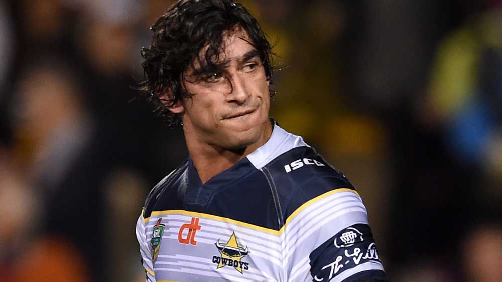 Johnathan Thurston is set for contract talks at the Cowboys. (AAP)|