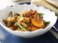 Cold lamb curry