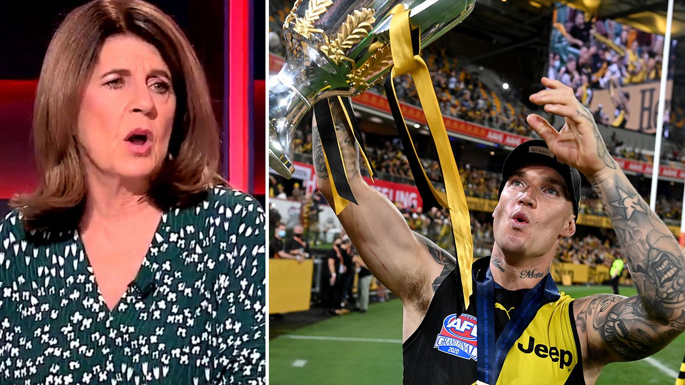 Caroline Wilson and Waleed Aly slam night AFL Grand Final 'disgrace' despite record numbers