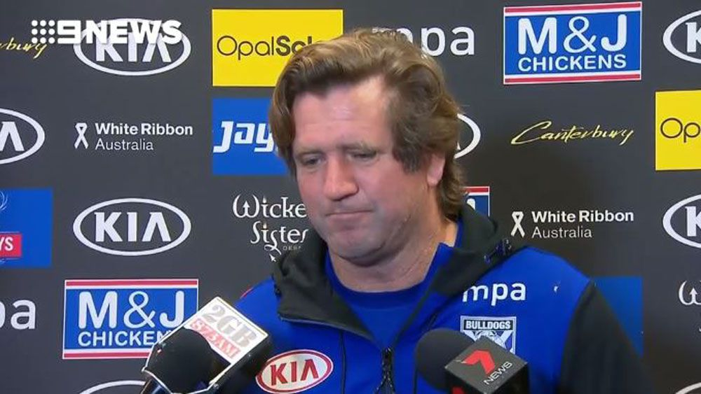 Des Hasler defends his NRL Bulldogs