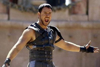 Both actors have played tough-guy roles in swords-and-sandal blockbusters (for Russell, <i>Gladiator</i>, for Sam, <i>Clash</i> and <i>Wrath of the Titans</i>). Russell did it first in 2000, and won an Oscar for his role as Maximus.