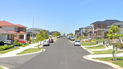 A child was hit by a car on a quiet residential street in Oran Park.