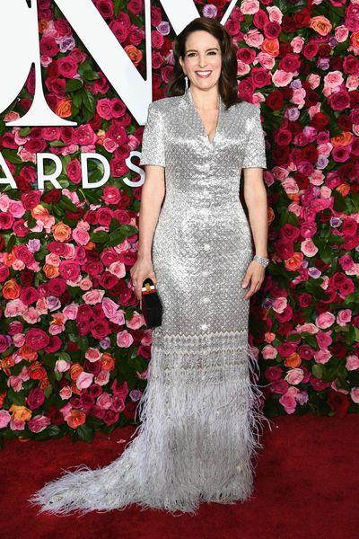 Comedian and actress Tina Fey inThom Browne