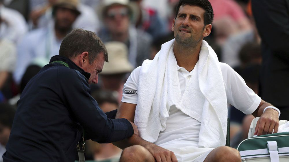 Injury wrecks Novak Djokovic's Wimbledon hopes