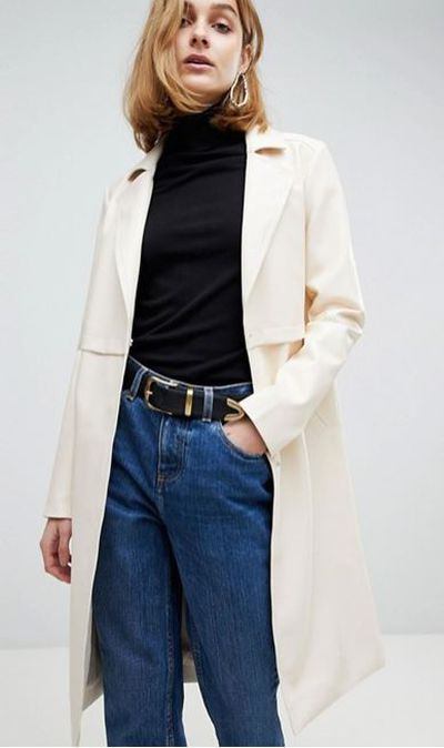 "<a href=""http://www.asos.com/au/asos/asos-faux-leather-trench-coat/prd/8989367?clr=cream&SearchQuery=leather+trench+coat&SearchRedirect=true"" target=""_blank"" draggable=""false"">ASOS Faux Leather Trench in Cream, $129</a>"