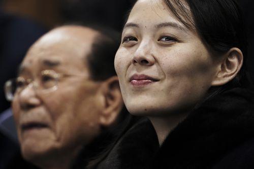 Kim Yo-jong, the sister of North Korean leader Kim Jong-un.