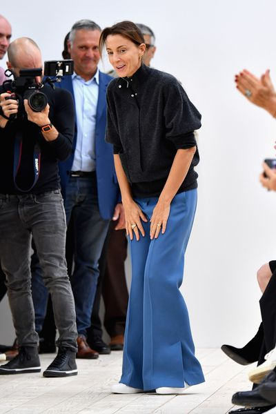 <p>Phoebe Philo, Celine, autumn/winter '17</p> <p><strong>The look:</strong> Sunday morning style</p>