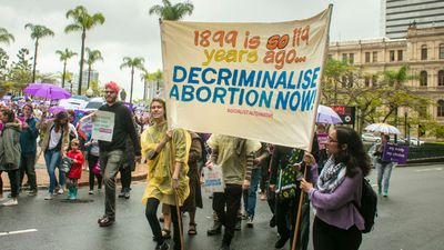 Complex legality of abortion in Australia