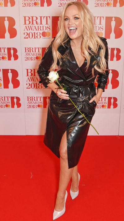Emma Bunton in The Kooples at the 2018 Brit Awards