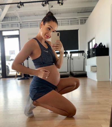 Kayla Itsines shares post-baby body photo