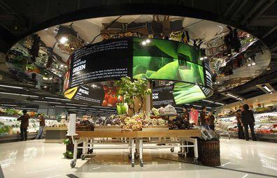 Raffles City Chonqing gourmet supermarket