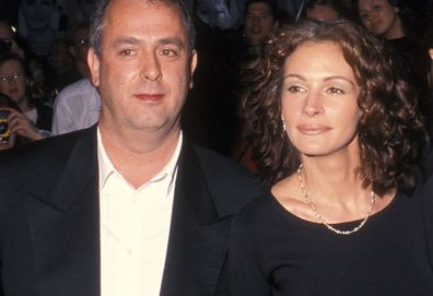 Roger Mitchell and Julia Roberts