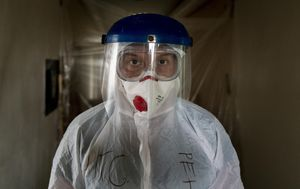Coronavirus Europe: Virus wallops a Ukraine 'catastrophically short of doctors'