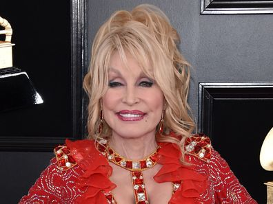 Dolly Parton, Grammy Awards, Staples Center, February 10, 2019, Los Angeles
