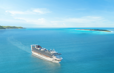 P&O Cruises Pacific Adventure