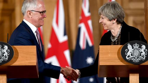'As soon as possible': May says Australia-UK trade deal is priority