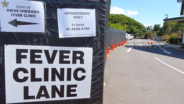 Drive-through fever clinic opens in Cairns