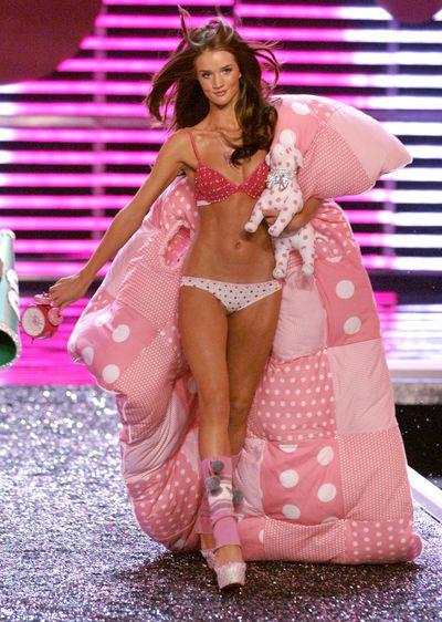 Rosie Huntington-Whiteley at the 2006 Victoria's Secret Show