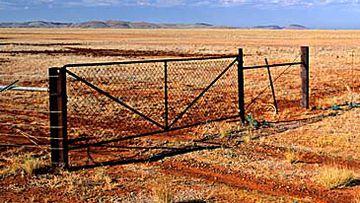 Cattle station fence (AFP)