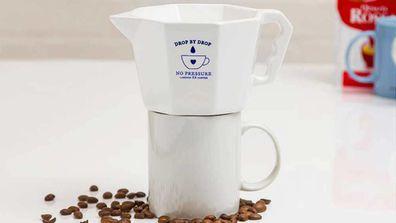 No Pressure drip coffee