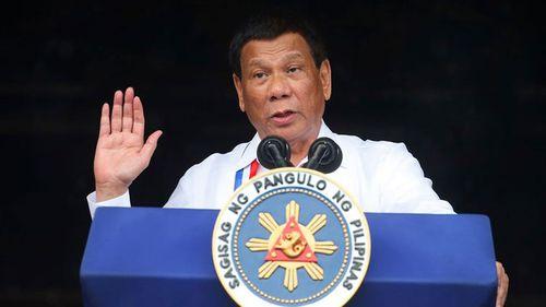 Philippine President Rodrigo Duterte will meet with bombing victims.