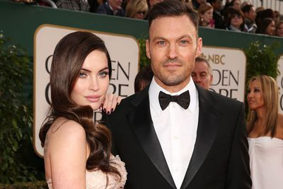 """Who wears the pants in this open relationship?! <br/><br/>According to <i>OK! Magazine</i> Brian Austin Green is not allowed to touch another woman... but Megan Fox can have any man she wants! <br/><br/>A source told the mag: """"They've agreed to an open relationship where Megan can see other men but Brian can't date anyone else."""" <br/><br/>Megan has her cake... and eats it too!"""