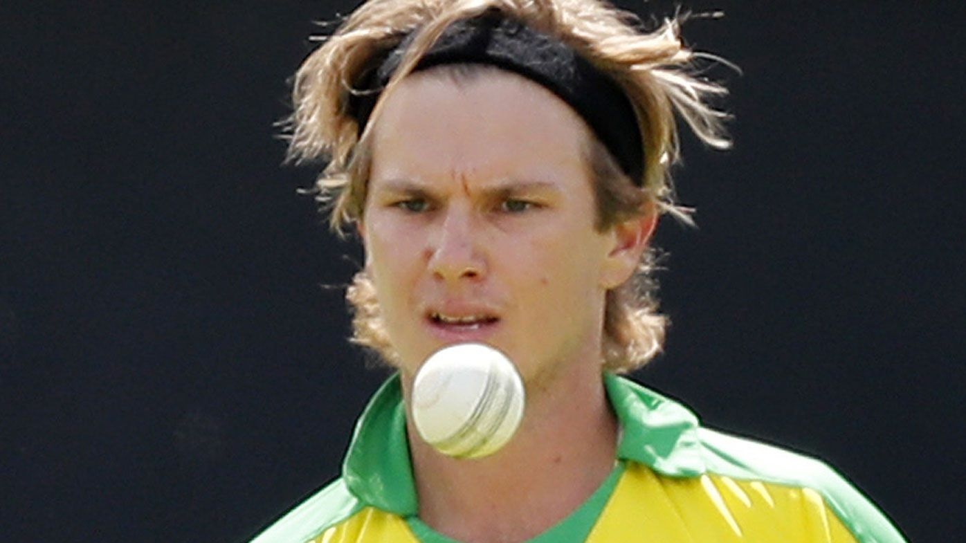 Adam Zampa's hand warmers ignite online fire during World Cup clash against India