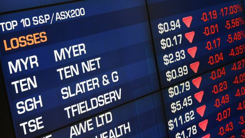 Resources hit hard as Australian market closes two percent lower
