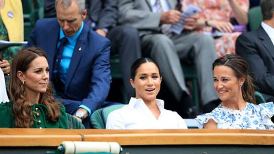 Kate, Meghan and Pippa Middleton, Wimbledon 2019
