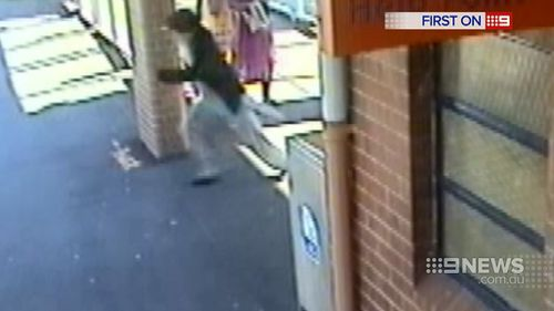 A Sydney grandfather has been forced to run for his life after he heroically rescued a baby girl from the path of an oncoming freight train. (9NEWS)
