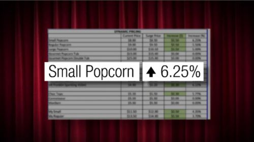Village Cinemas said it is investigating claims of price surging at its candy bar. (9NEWS)