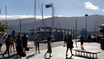 Cairns in Queensland has been placed in lockdown after a taxi driver tested positive for the coronavirus.