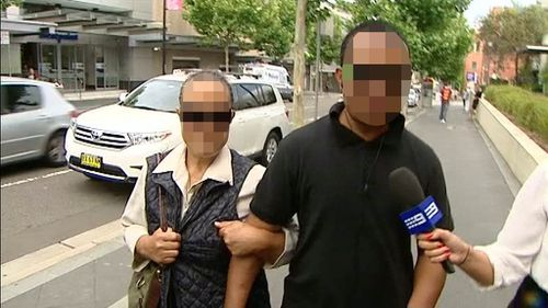 Supporters of the woman appeared at Penrith Court today. (9NEWS)