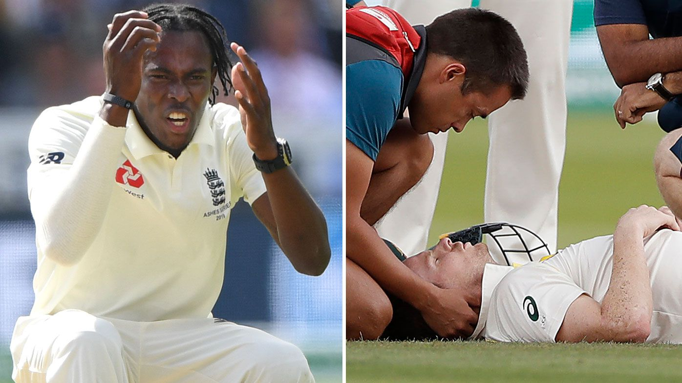 Jofra Archer admits he thought of Phil Hughes after Steve Smith bouncer