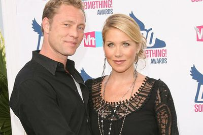 Christina Applegate and musician Martyn LeNoble got engaged earlier this year.