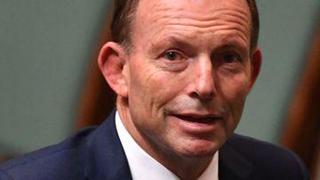 Tony Abbott. (AAP)