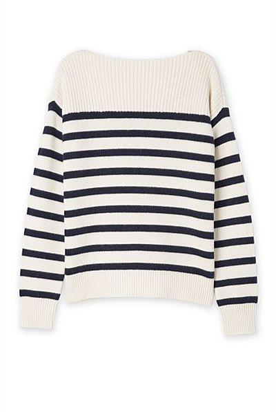 The breton stripe top