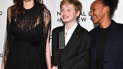 Angelina Jolie and Brad Pitt's children through the years: Photos