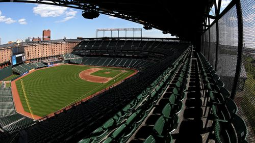 An empty Oriole Park. (Getty Images)