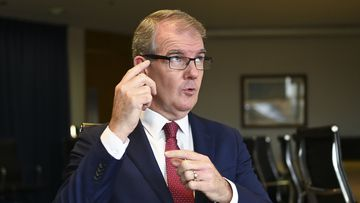 NSW Opposition Leader Michael Daley conceded he got details muddled when participating in a live television debate. (AAP Image/Lukas Coch)