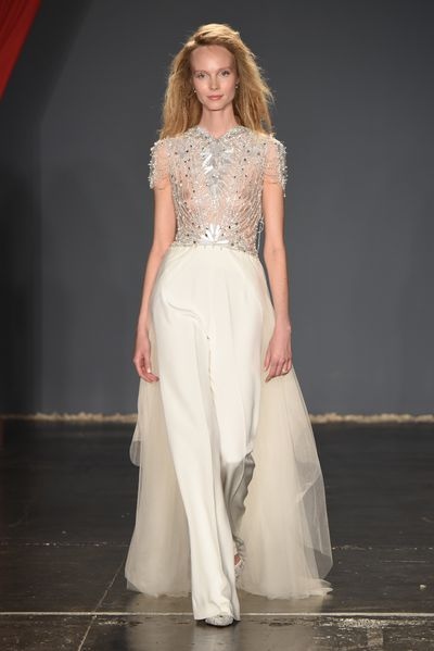 Jenny Packham, New York Bridal Fashion Week 2017<br />