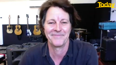 Bernard Fanning reflected on Powderfinger's exciting year on 'Today'.